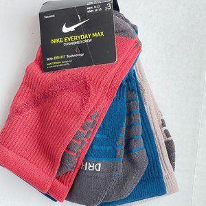 3-Pack Nike Crew Socks